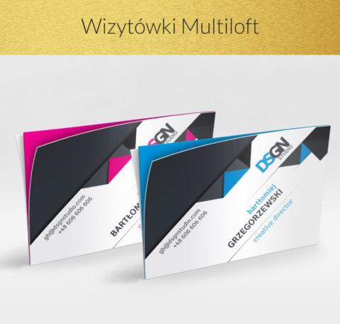 Wizytówki Multiloft