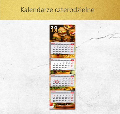 Kalendarze czterodzielne