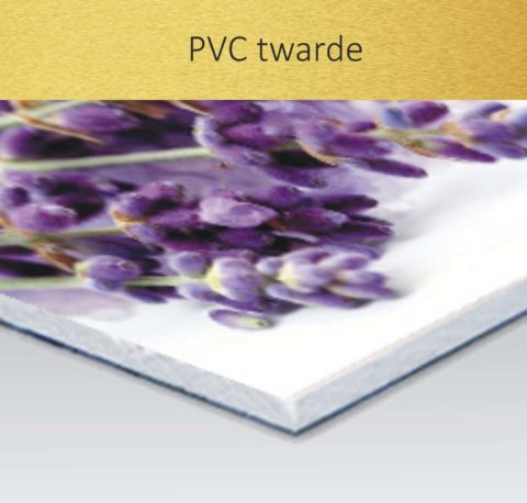PVC twarde – płyty z nadrukiem
