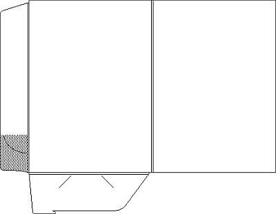 teczka A4 mat