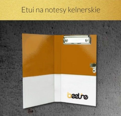Etui na notesy kelnerskie