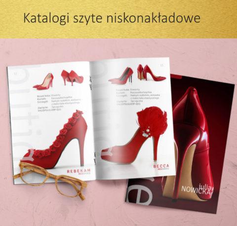 katalogi szyte niskonakładowe