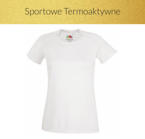 koszulki sportowe termoaktywne